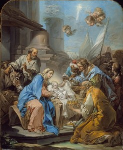Adoration of the Magi by van Loo